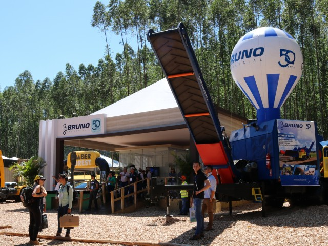 Bruno Industrial na Expoforest 2018
